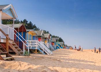 Beach Huts at Wells, North Norfolk