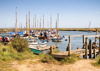 Boats at Morston, Norfolk