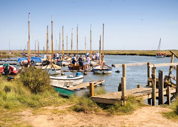 Boats at Morston, Norfolk