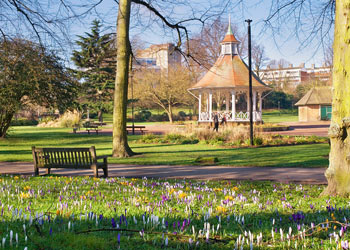 Chapelfield Gardens, Norwich, Norfolk