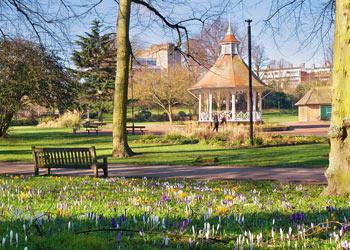 Chapelfield Gardens, Norwich, Norfolk
