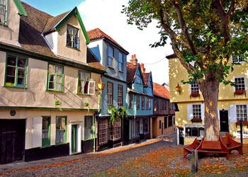 Elm Hill Norwich, Norfolk