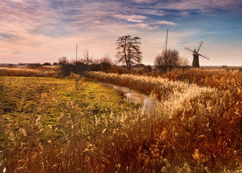 Thurne Windmill, Norfolk Broads