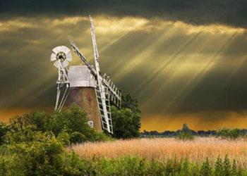 Windmill on Norfolk Broads