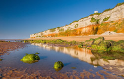Cliffs at Hunstanton, North Norfolk Coast